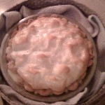The fruit of my labors. Pie #1