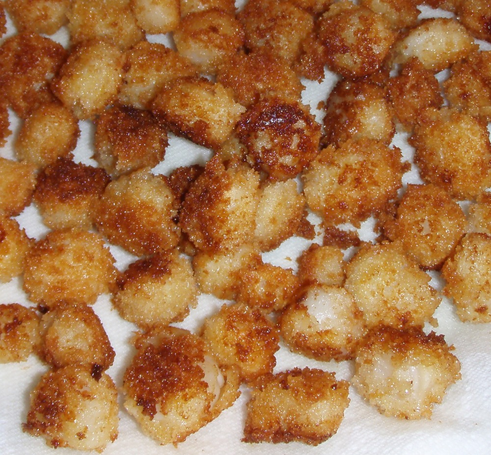 Cooked Scallops