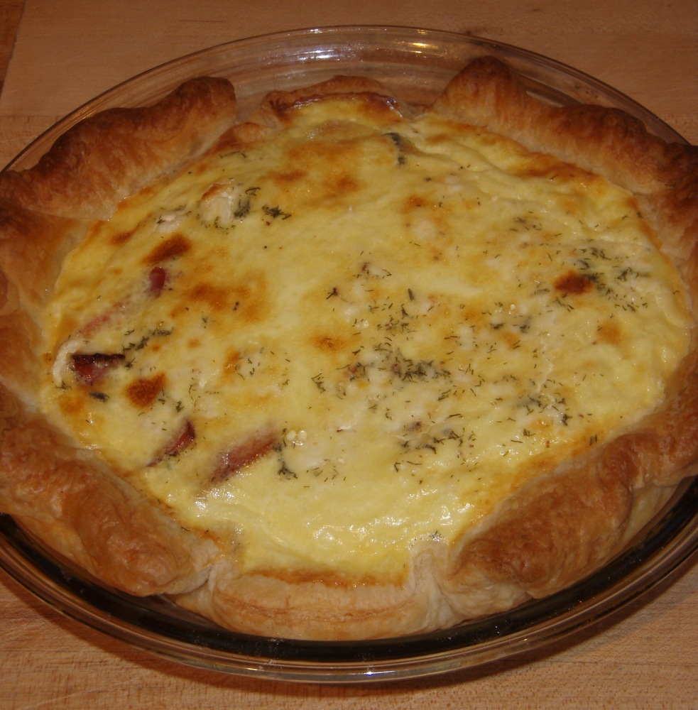 Day 5: Quiche Lorraine and Locust Pose