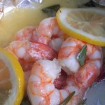 Grilled Shrimp Packets with Rosemary and Lemon...magnifique!