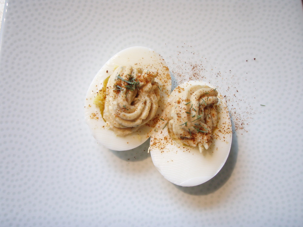 Pure NW: Smoked Salmon Deviled Eggs