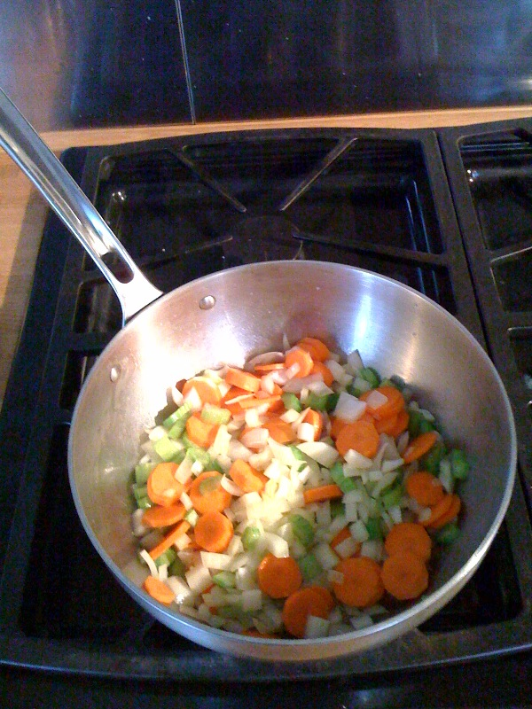 Sauteeing Vegetables