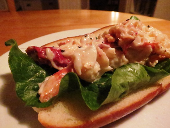 Utter deliciousness: New England Lobster Roll