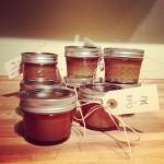 Salted Caramel Sauce in Mason Jars